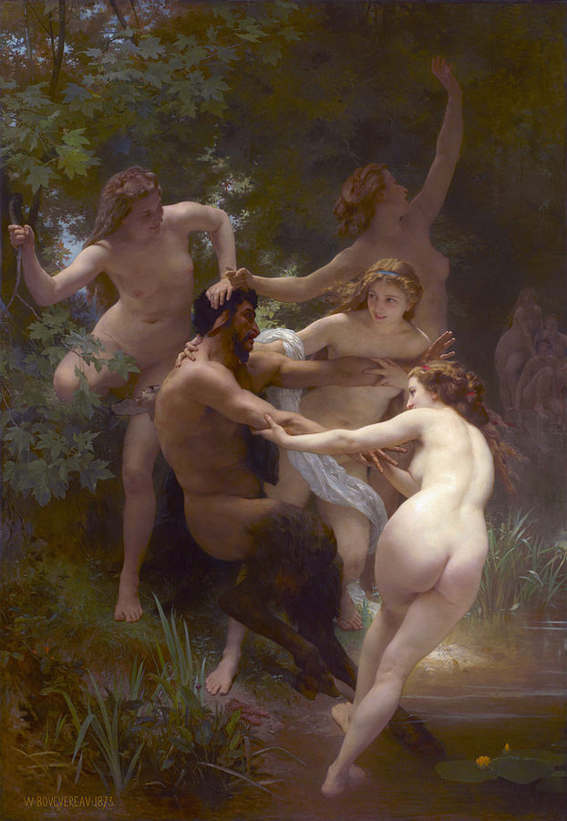 622px-Nymphs_and_Satyr,_by_William-Adolphe_Bouguereau